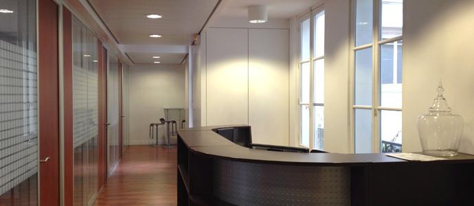 Rénovation de bureau à Nantes