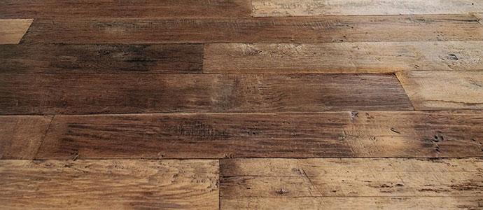 Diagnostic de parquet en bois