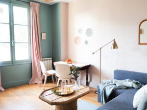 Appartement pastel à Nantes