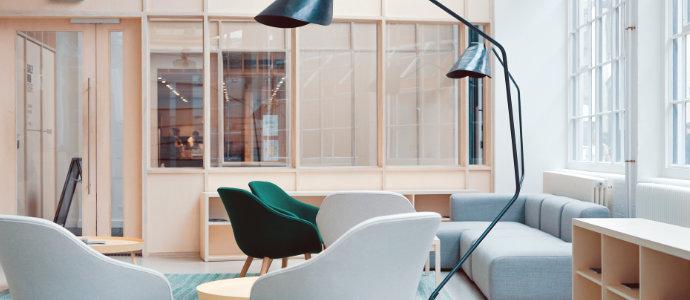 Rénovation de peinture de bureau à Nantes
